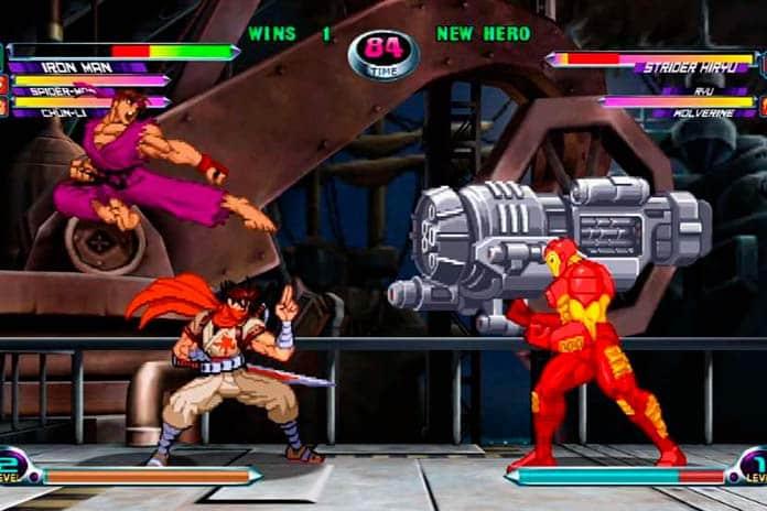 Games Retrô de Super-Heróis
