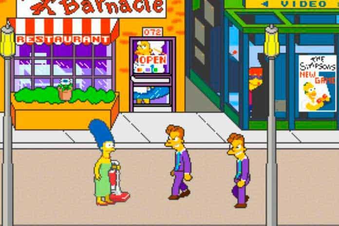 The Simpsons Arcade - Mecânica