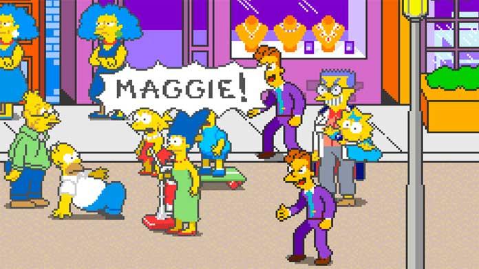 The Simpsons Arcade - Visual