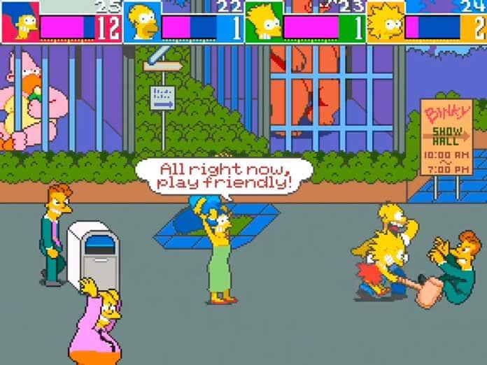 The Simpsons Arcade - Visual 03
