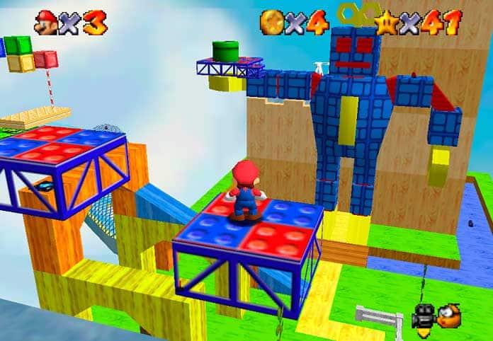 Super Mario Star Road (N64)