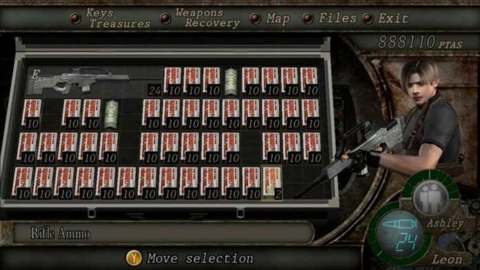 Rifle Semi-Auto de Resident Evil 4