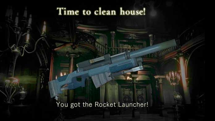 Rocket Launcher de Resident Evil