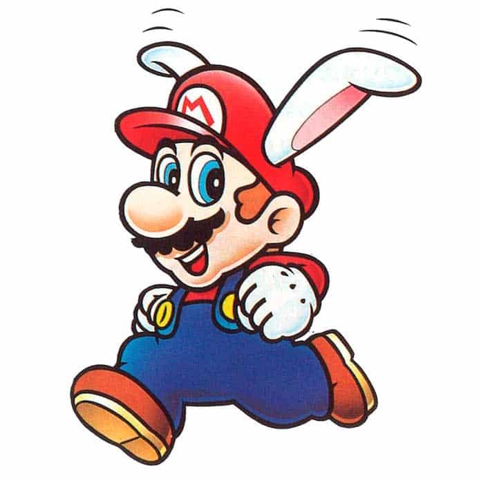 Super Mario com Orelhas de Coelho - Super Mario Land 2