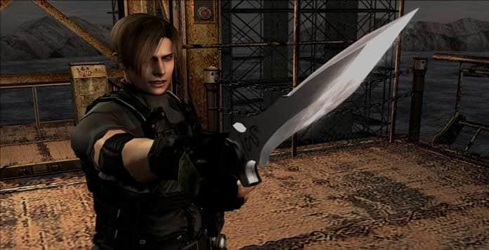 Survival Knife Resident Evil Moderno