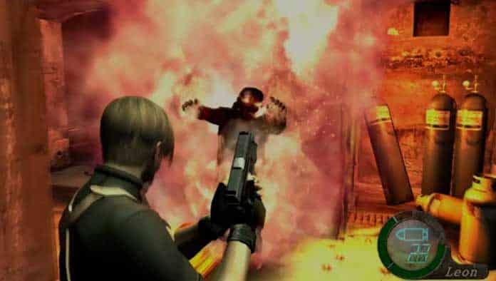 Susto em Resident Evil 4