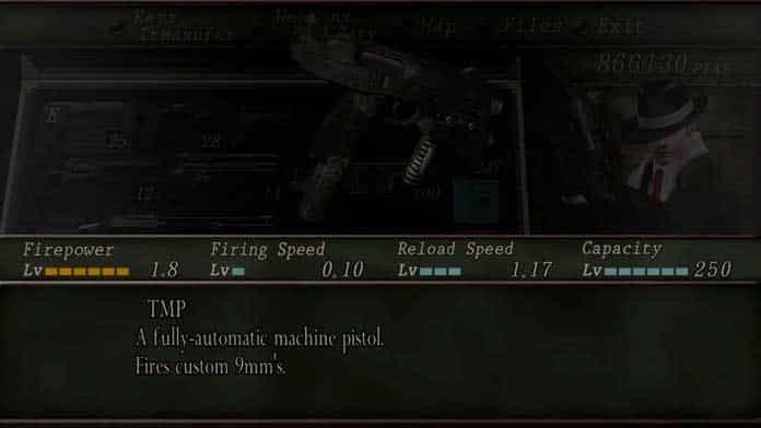 TMP de Resident Evil 4