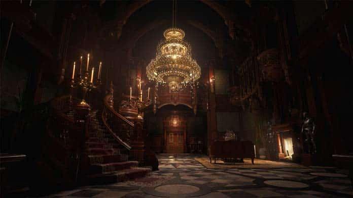 Resident Evil Village 07 Interior do Castelo Dimitrescu