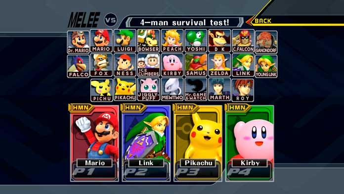 Super Smash Bros. Melee GameCube